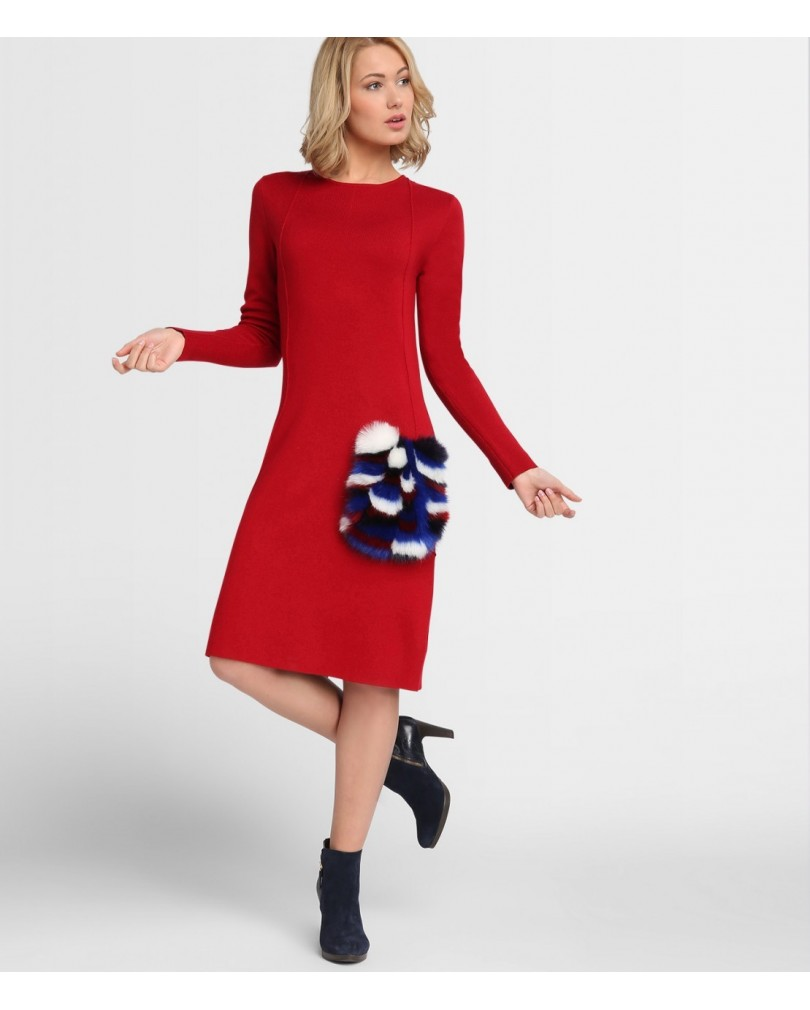 Rotes kleid welche accessoires