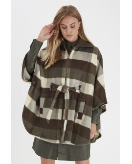 B.YOUNG PONCHO OLIVE