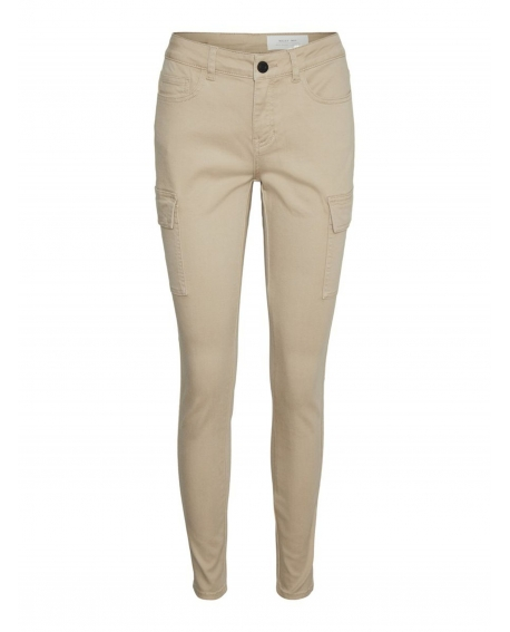 Noisy May LUCY NORMAL Utility WAIST HOSE beige